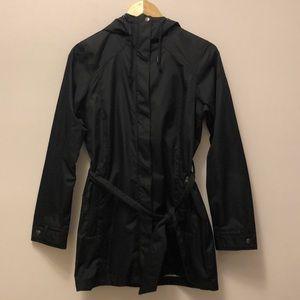 Columbia Black Pea Coat Windbreaker Jacket